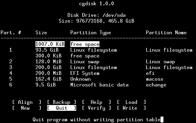 Slackware EFI_boot sur Mac
